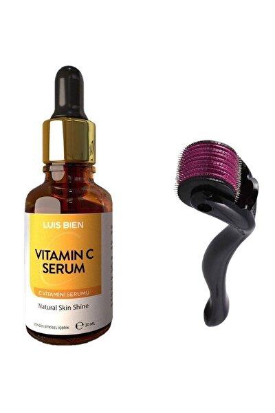 C Vitamini Serum Seti 30 Ml + Dermaroller 0,5 Mm