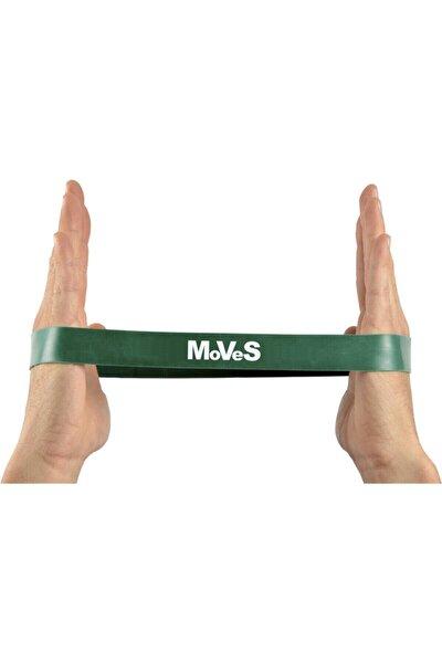 2,5x30cm Yeşil Seviye 3 Pilates Loop Band