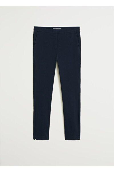Kadın Lacivert Kısa Paçalı Skinny Pantolon 77030533