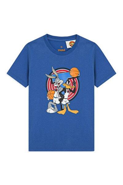 Çocuk Lisanslı Daffy Duck Baskılı Parlak  Tişört 6627831101
