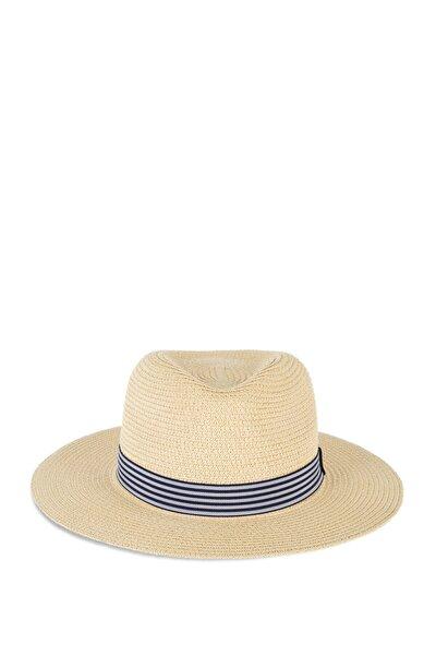Kemerli Hasır Şapka