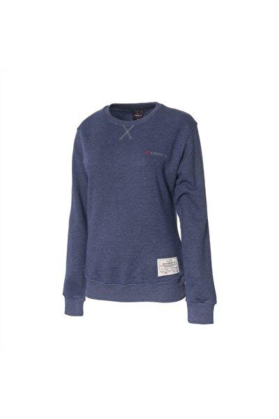 Kadın Lacivert Outdoor Basic Sweatshirt