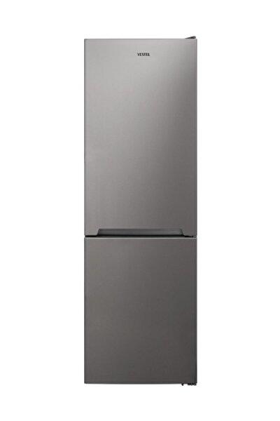 NFK3701 G A++ 370 Lt No-Frost Kombi Gri Buzdolabı