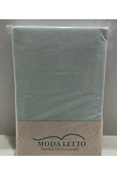 Modaletto S.yeşili Çift Kişilik Havlu Çarşaf Takım