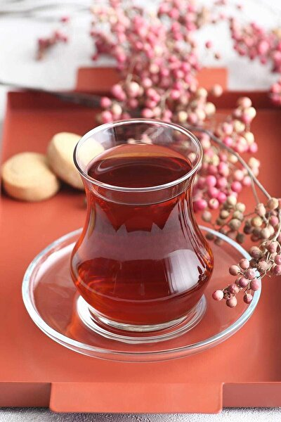 Beyaz 12 Parça Çay Seti