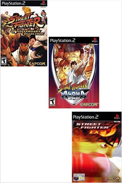 Playstatıon 2 - Street Fighter Serisi 3 Oyun