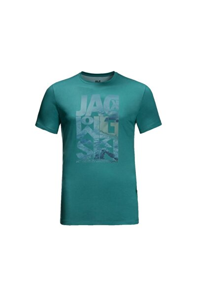 Erkek Yeşil Atlantic Ocean Tişört
