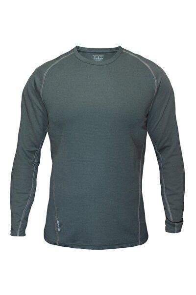 Erkek Haki Outdoor Uzun Kollu Tactical Tişört