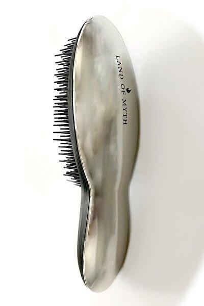 Detangling Hair Brush Silver Saç Açma Tarağı Lom1202