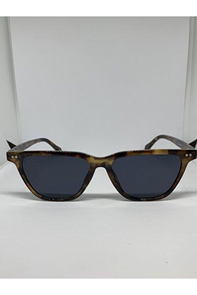 Siyah Leopar Güneş Gözlüğü