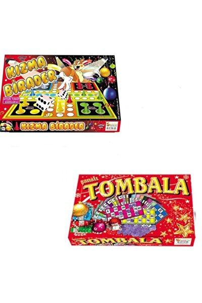 Kızma Birader Ve Tombala Oyun Seti Yılbaşı Oyunları
