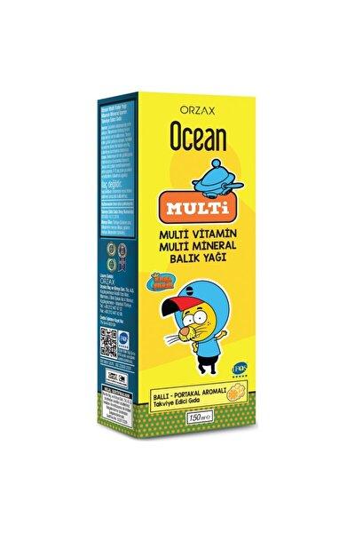 Ocean Multi Ballı Portakallı Balık Yağı Şurubu 150 ml