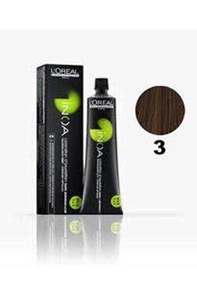 3 Numara Koyu Kestane Saç Boyası 60 Ml (oksidansız)