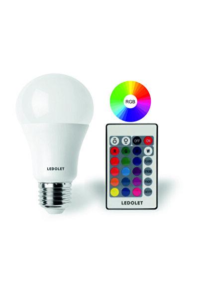 9W RGB LED AMPUL RENK DEĞİŞTİREN