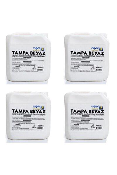 Beyaz Sabun Parfümlü Yüzey Temizleyici 4 X 4 L