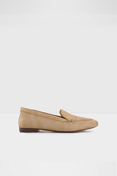 Kadın Kahverengi Vizon Loafer Ayakkabı