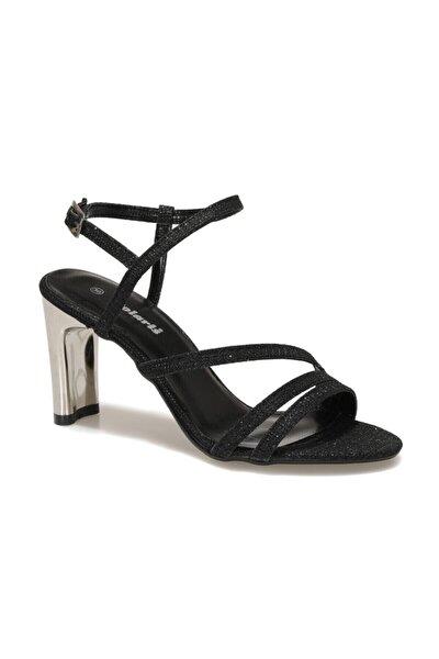 317171PZ 1FX Siyah Kadın Topuklu Sandalet 101012643