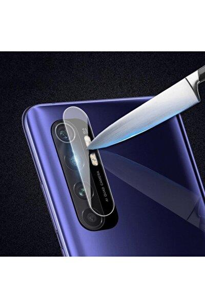 Xiaomi Mi Note 10 Lite Kırılmaz Kamera Lens Koruma Temperli Cam