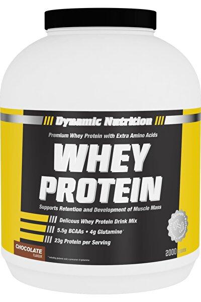 Whey Protein Tozu 2000 Gr (çikolata Aromalı)