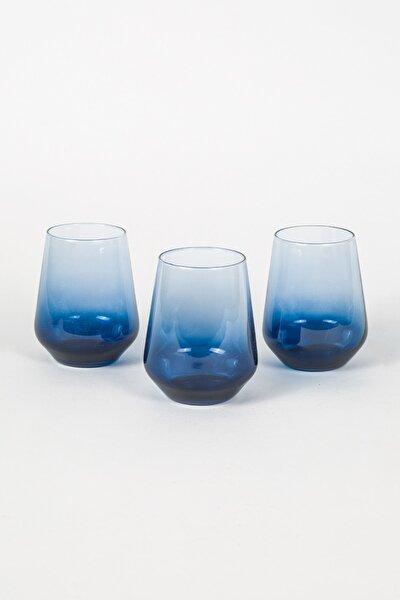 Mavi Su Bardağı Seti 3'lü