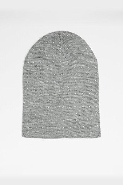 Kadın Gri Şapka