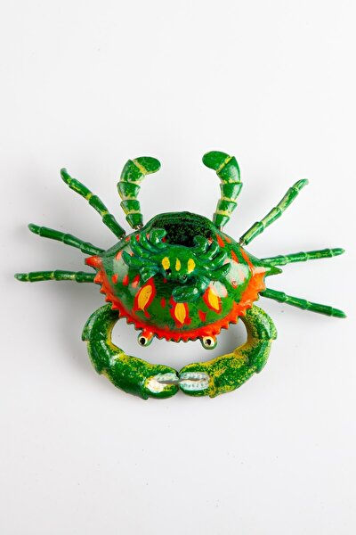 Yeşil Yengeç 3d Buzdolabı Magneti
