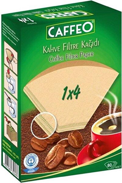 Filtre Kahve Kağıdı 1x4 80'li 2 Paket 160 Adet