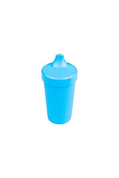 Unisex Bebek Mavi Akıtmaz Alıştırma Bardağı
