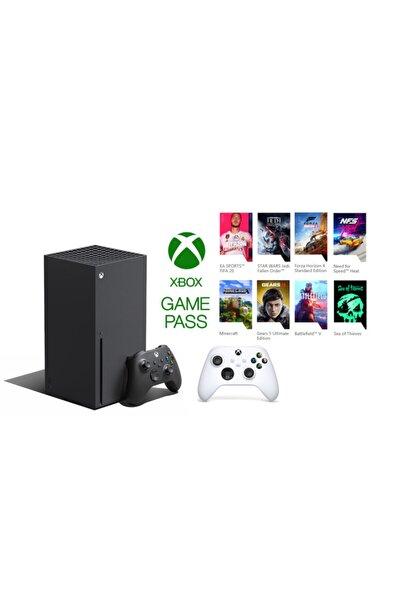 Xbox Series X 1TB SSD Oyun Konsolu + 1 Kol Beyaz + 1 Yıl Live Gold + Gamepass