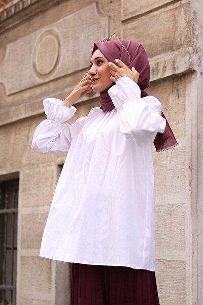 Kadın Carleen Beyaz Gömlek