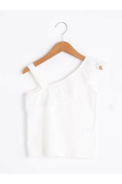 Kız Çocuk Beyaz Tişört