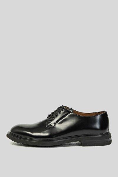 Erkek Siyah  Suıt Deri Casual Ayakkabı