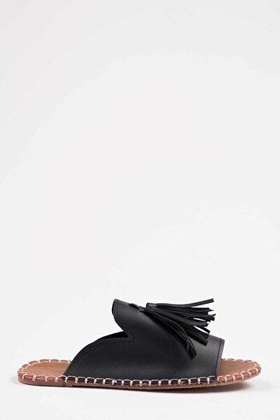 Kadın Siyah Terlik 1005-122-0001_1002