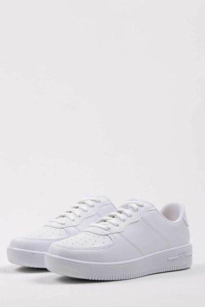 Kadın Beyaz Sneaker 1021-105-0010_1003