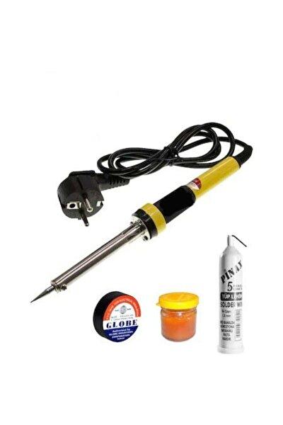 Kalem Seklinde Havya Lehim Makinesi Lehim Teli Lehim Pasta Izole Bant 60w