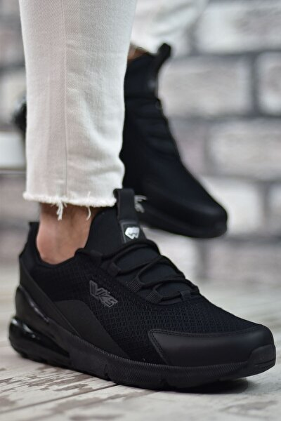 Siyah Siyah Airz Erkek Sneaker