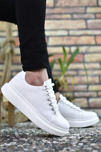 Beyaz Erkek Sneaker 0012152