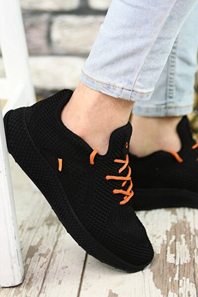 Siyah Siyah Erkek Sneaker 0012461