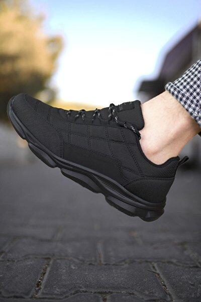 Siyah Siyah Erkek Sneaker 00121310