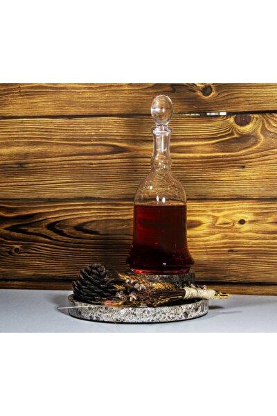 El Yapımı Cam Sürahi,şarap Şişesi