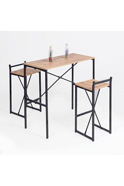 Bar Masası Mutfak Yemek Masası 2 Kişilik 5070