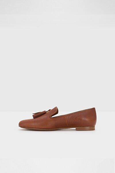 Kadın Taba Loafer Ayakkabı