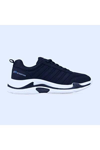 Unisex Lacivert Bağcıklı Sneaker