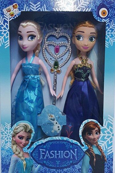 Disney Frozen Karlar Ülkesi Elsa Anna Bebekler 2li 23 cm