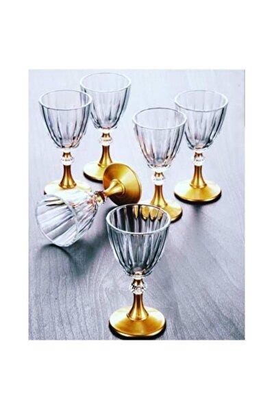 Diamond Gold Kahve Yanı Su Bardağı Takımı