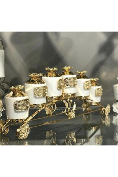 6lı Gold Beyaz Baharat Seti