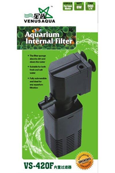 Venusaqua 420f Akvaryum Iç Filtre Motor 6 Watt 500 Lt / Saat
