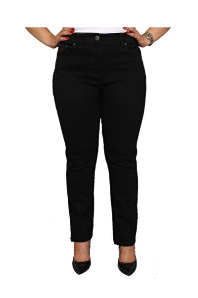 Kadın Siyah Kot Pantolon