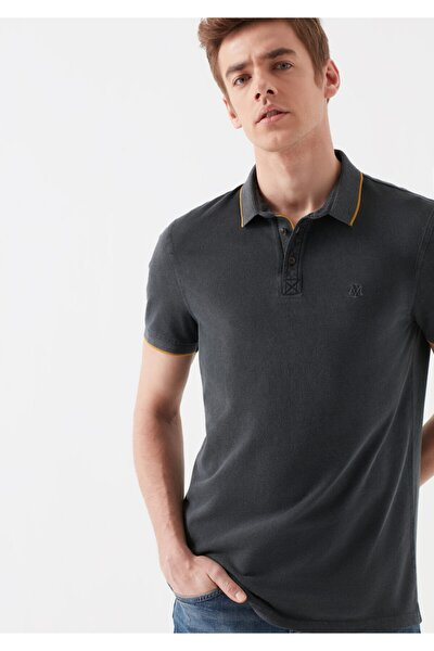 Erkek Gri Polo Tişört