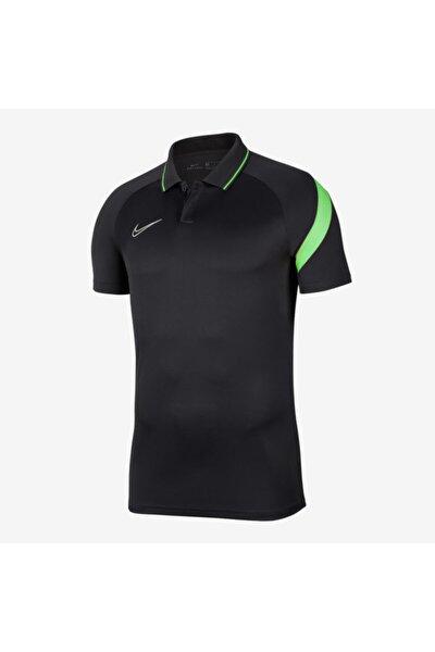 Erkek Gri Academy Pro Polo Yaka Tişört